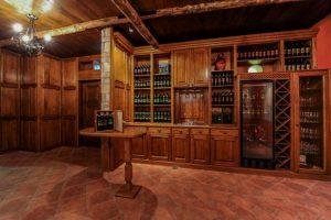 La cantina per la degustazione di Crypta Castagnara